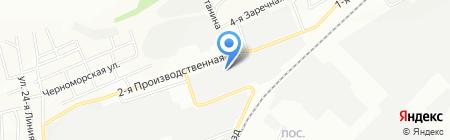 Трейдвино на карте Омска