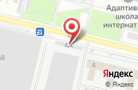 Схема проезда до компании Спарта-Мед в Омске