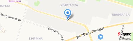 Мини СТО на карте Сургута