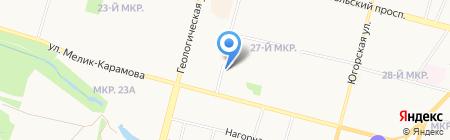Caramel на карте Сургута