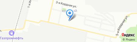 Детская художественная школа им. Е.В. Гурова на карте Омска