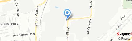 Вертекс-Омск на карте Омска