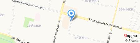 За Росичем на карте Сургута