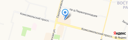 RIVIERA на карте Сургута