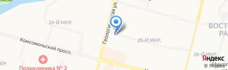 ЖЭУ №2 на карте Сургута