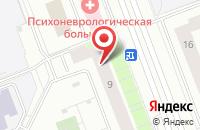Схема проезда до компании Лесная сказка в Сургуте