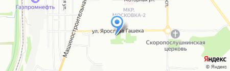 Банкомат АКБ Авангард на карте Омска