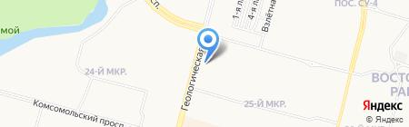 WELL на карте Сургута