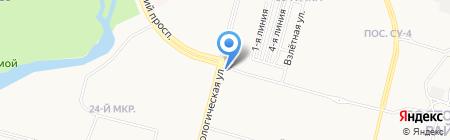 Мой телефон на карте Сургута