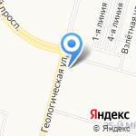 Царская купель на карте Сургута
