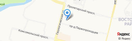 Три девицы на карте Сургута