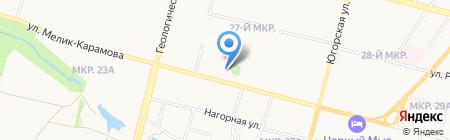 Майкор-Мебель на карте Сургута