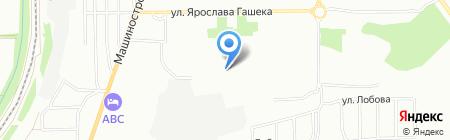 РегионИнжГазстрой на карте Омска