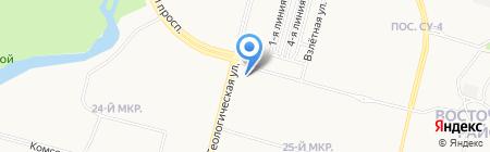 Банкомат Аккобанк на карте Сургута