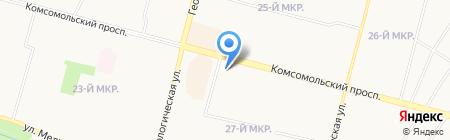 Аринушка на карте Сургута