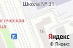 Схема проезда до компании Энерджи Сервис в Сургуте
