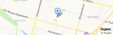 Лёха на карте Сургута