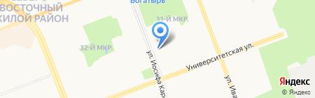 Школа+ на карте Сургута