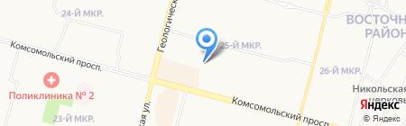 Династия плюс на карте Сургута