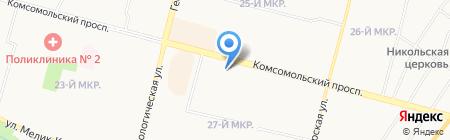 ФинКом на карте Сургута