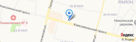 Быстроденьги на карте Сургута