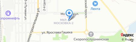 На Моторной на карте Омска