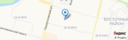Сургутская школа кёкусинкай карате на карте Сургута