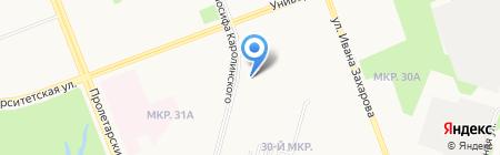 Ковровый Центр на карте Сургута