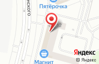 Схема проезда до компании РИГУС СЕРВИС в Сургуте