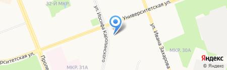 Старый друг на карте Сургута