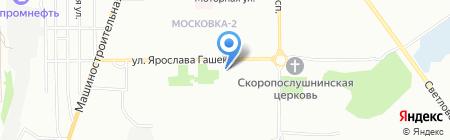 Квитоша на карте Омска