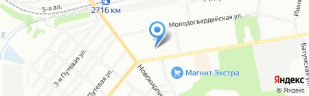 Пани модница на карте Омска