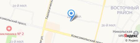 Детский сад №65 на карте Сургута