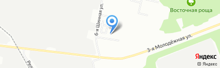 Средняя общеобразовательная школа №141 на карте Омска