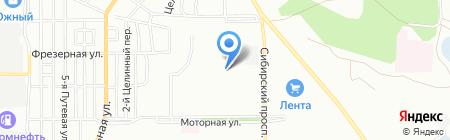 Ломбард-Кондор на карте Омска
