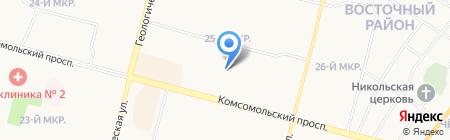 РЕМКОМПЛЕКТ-СУРГУТ на карте Сургута