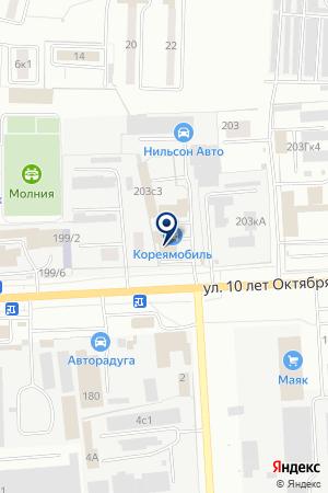 ПРОИЗВОДСТВЕННАЯ ФИРМА ДОМАШНЕЕ БИСТРО на карте Омска