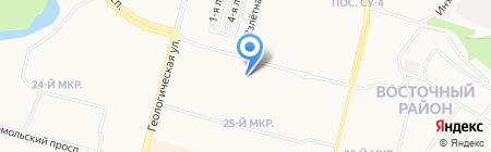 Рушана на карте Сургута
