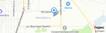 Детская школа искусств №9 на карте Омска