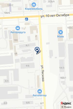 ПРОИЗВОДСТВЕННАЯ ФИРМА ГАЛИОТ на карте Омска