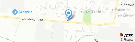 Инмарко на карте Омска
