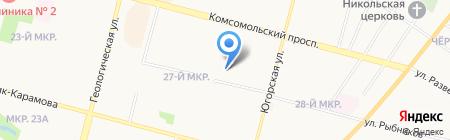 Детский сад №27 на карте Сургута