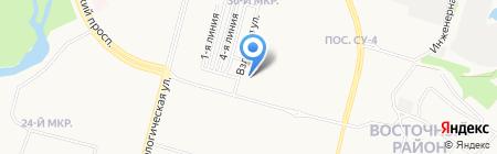 Делиссимо на карте Сургута