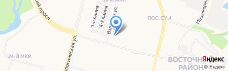 ВИП СЕРВИС на карте Сургута