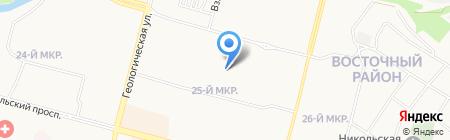 Детский сад №83 на карте Сургута