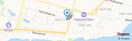 СургутТисиз на карте Сургута
