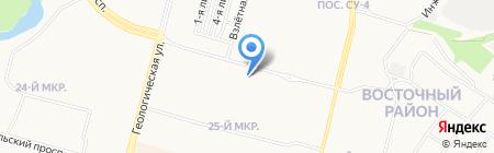 AQUA-MASTER на карте Сургута
