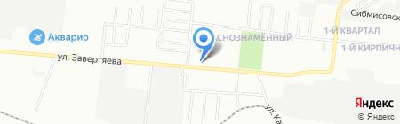 Пивноff на карте Омска