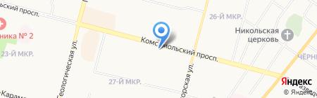 Свадьба на карте Сургута