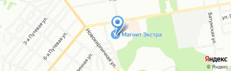 Линзотека на карте Омска